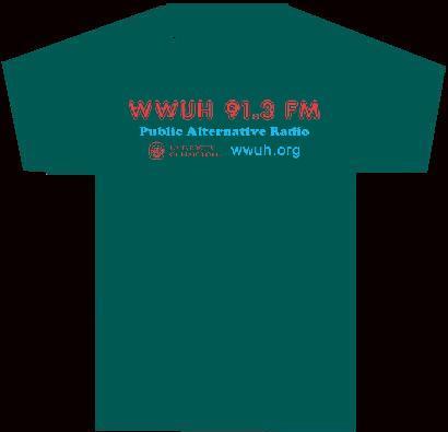 WWUH 2013 Spring Marathon T-shirt Premium: Back View