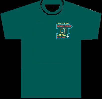 WWUH 2013 Spring Marathon T-shirt Premium: Front View