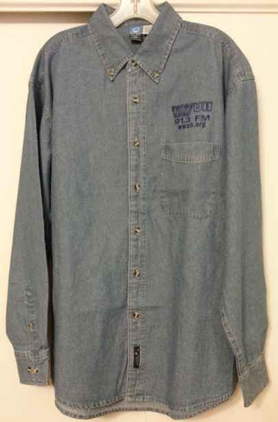 Denim Shirt Premium - View 1