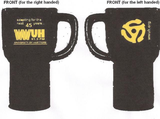 WWUH Travel Mug (with logo)