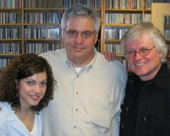 Ed McKeon with Carrie Rodriguez and Chip Taylor